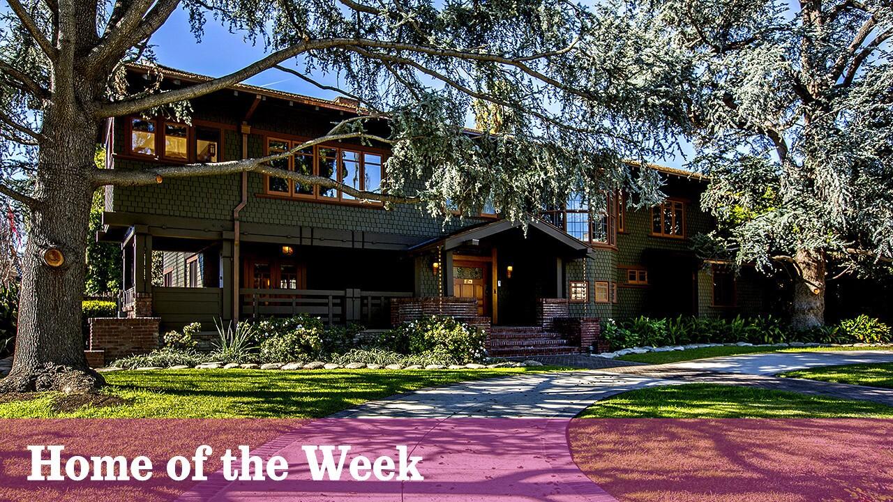 Home of the Week | A Greene & Greene showcase in Pasadena
