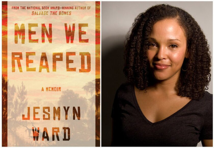 "Jesmyn Ward recalls her Mississippi upbringing in the memoir ""Men We Reaped."""