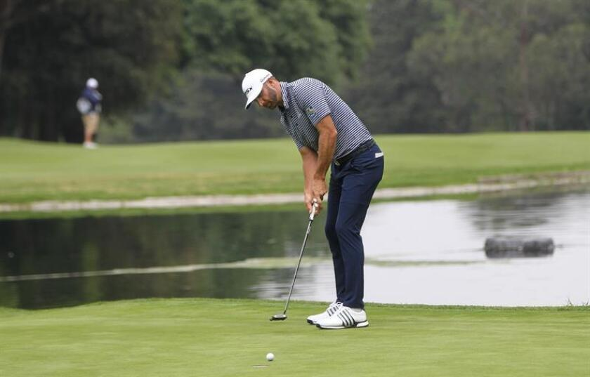 El golfista estadounidense Dustin Johnson. EFE/Archivo