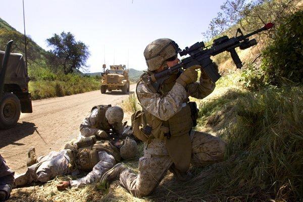 U.S. Marines prepare for deployment to Afghanistan
