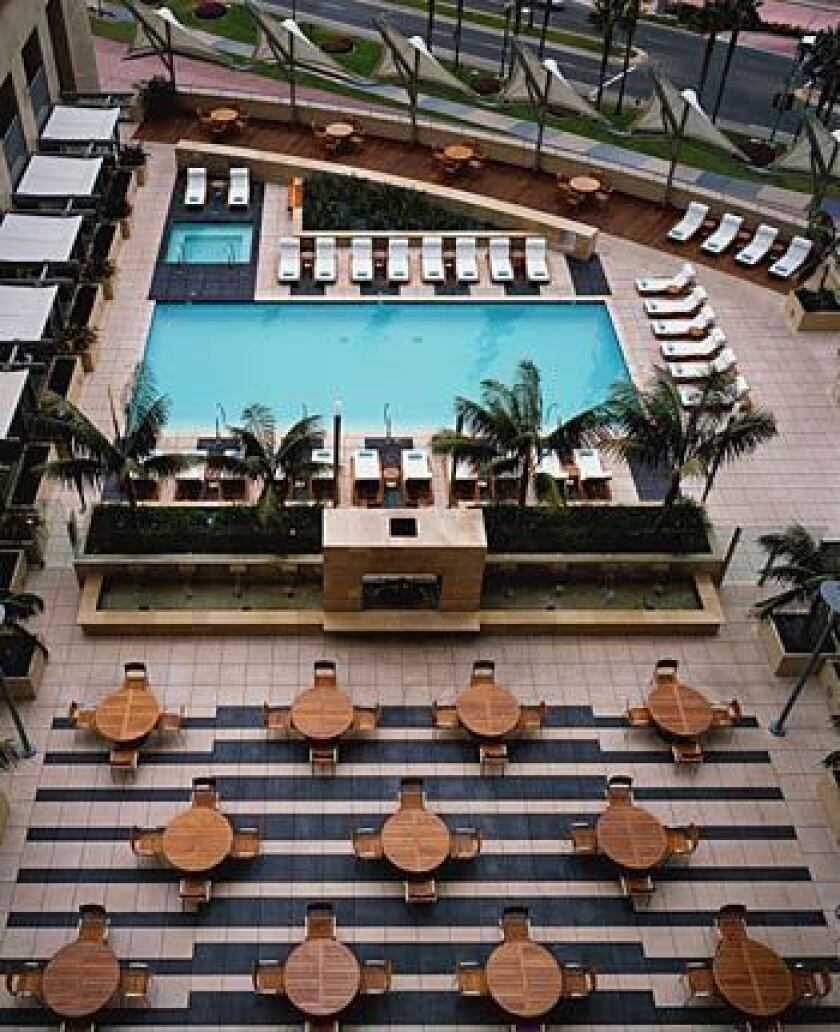 """The Omni San Diego offers active and retired military personnel a rate as low as $131 a night. Mention """"government/military."""""""