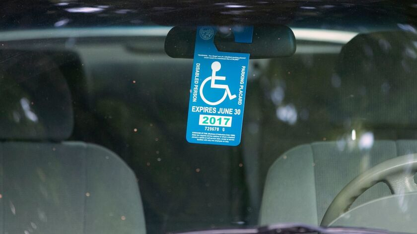 Oceanside police cracked down on drivers misusing disabled parking placards during a special enforcement push.