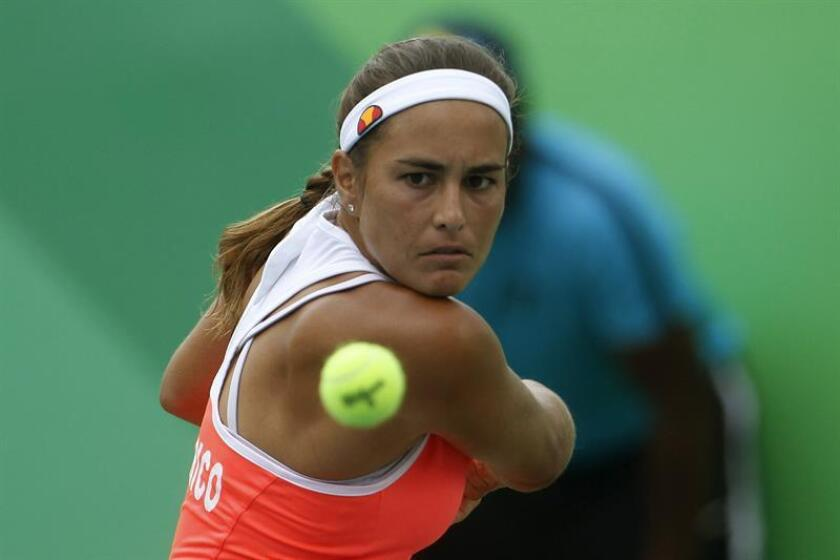 Mónica Puig, tenista puertorriqueña. EFE/Archivo