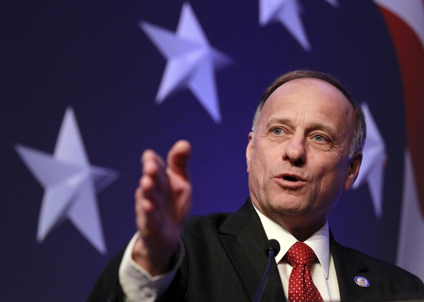 Rep. Steve King, R-Iowa, has frequently spoken out against immigration.
