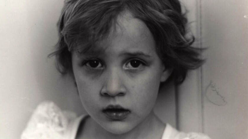 Dylan Farrow as a child.
