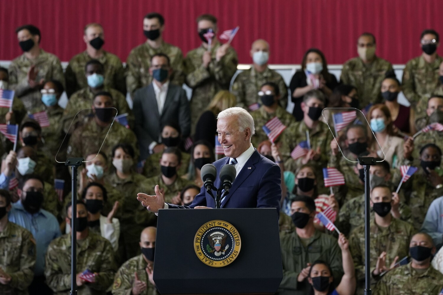 Biden to announce U.S. will donate 500 million COVID-19 vaccine doses to poor nations