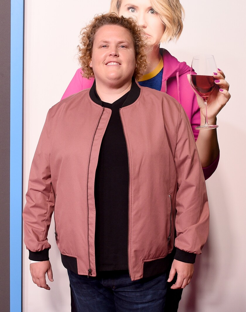 "A photo of Fortune Feimster at the Premiere Of Amazon Studios' ""Brittany Runs A Marathon"""