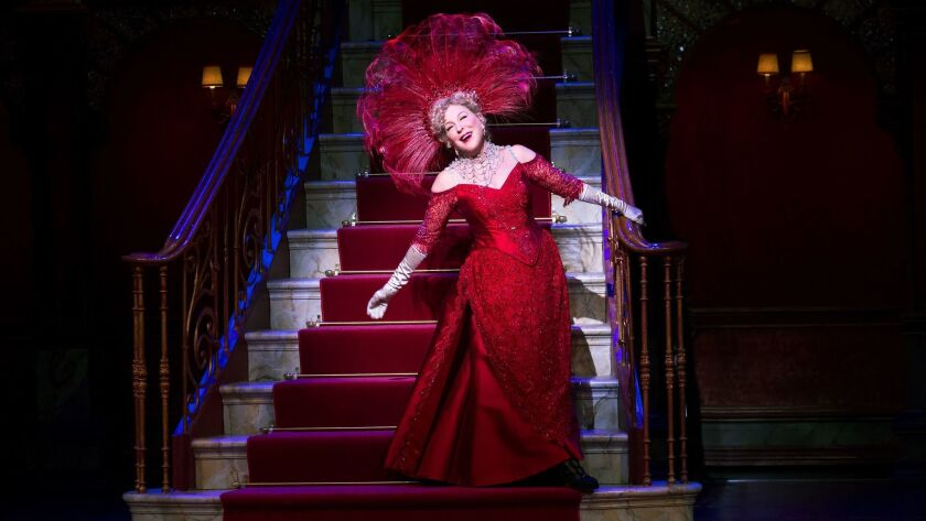 Bette Milder stars in Hello, Dolly! at the hubert Theater in New York. Photo Credit: Julieta Cervan