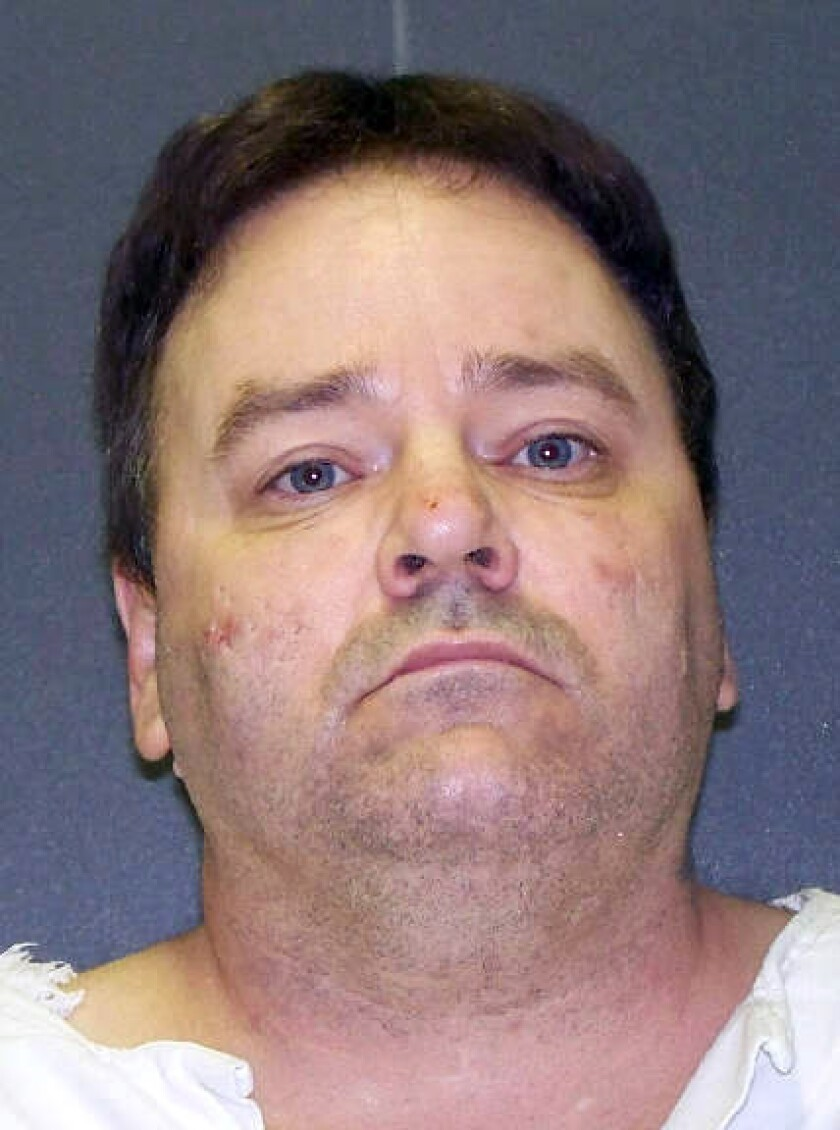 Convicted killer Tommy Lynn Sells, who had been set to die Thursday.