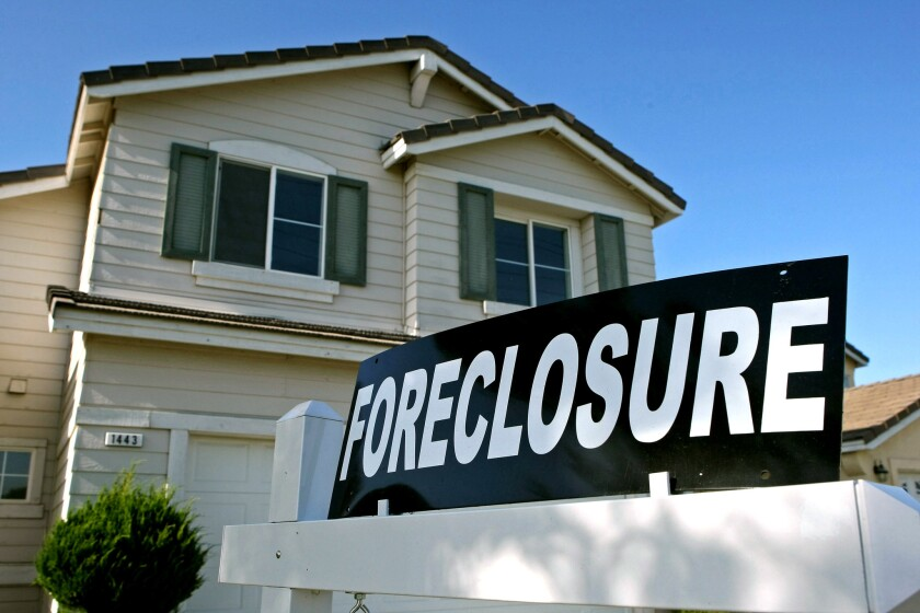 Gov. Gavin Newsom has authorized California to halt foreclosures until May 31.