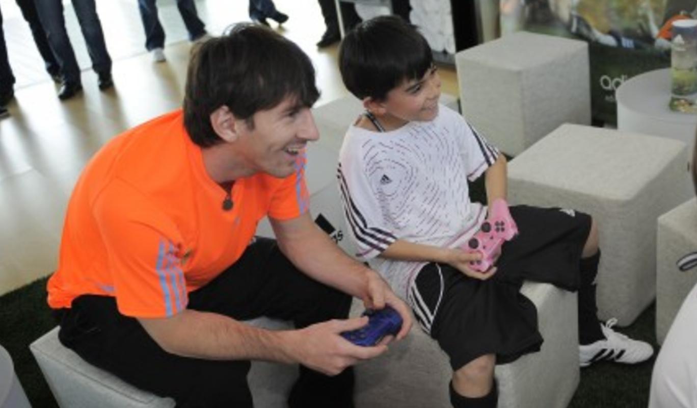 Messi, 'gamer'