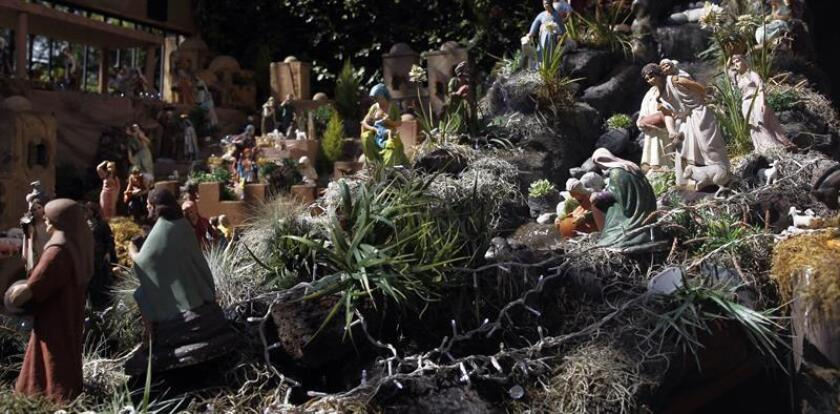 Mexican capital is home to giant nativity scene