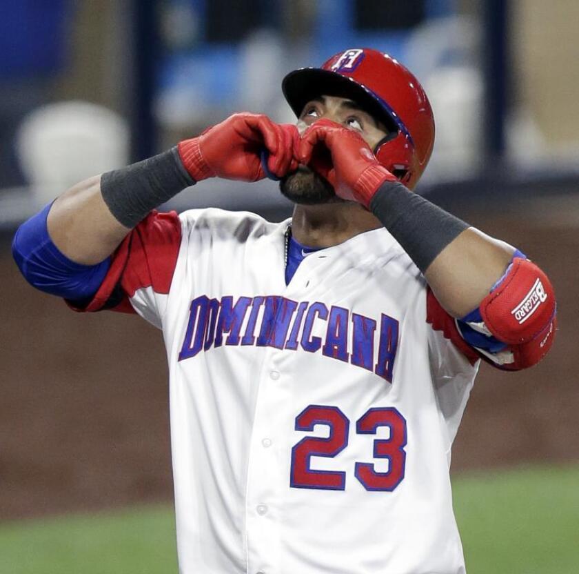 El jugador dominicano Nelson Cruz. EFE/Archivo