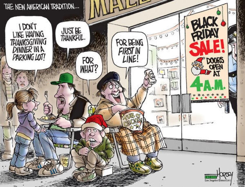 Black Friday hordes now plunder Thanksgiving