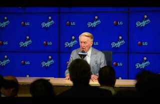Vin Scully's Final Press Conference Part One (of Four)