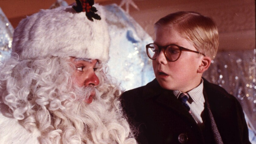 """Peter Billingsley, right, in """"A Christmas Story"""""""