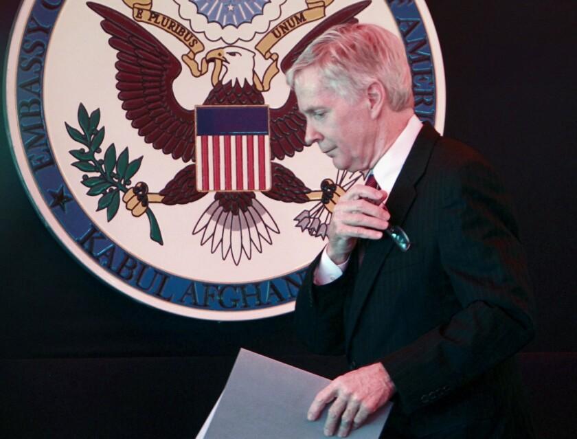 Ryan Crocker says U.S. is fumbling on Iran's nuclear program