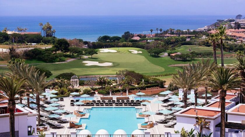 The Monarch Beach Resort in Dana Point, Calif., one of the places you can get pool access with ResortPass.