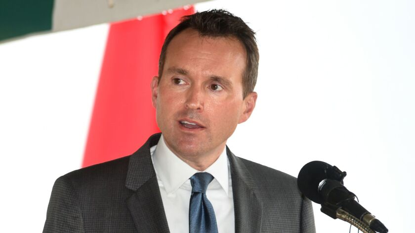 Secretary of the Army Eric Fanning speaks during a groundbreaking for the U.S. Army Cyber Command Complex at Ft. Gordon, Ga., on Nov. 29.