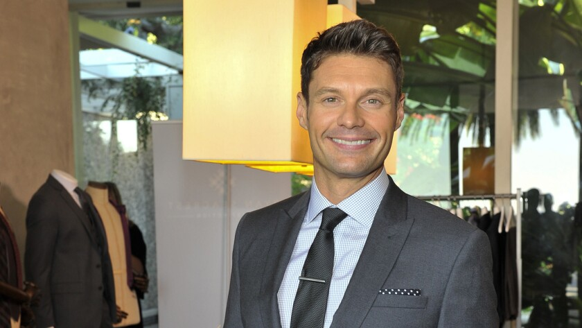 Ryan Seacrest launches a clothing label