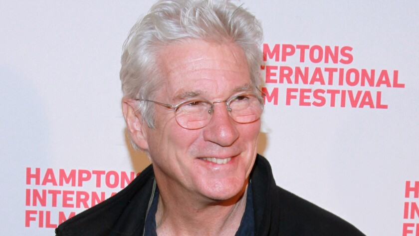 """Richard Gere attends the """"Time Out of Mind"""" premiere Friday at the 2014 Hamptons International Film Festival in East Hampton, N.Y."""