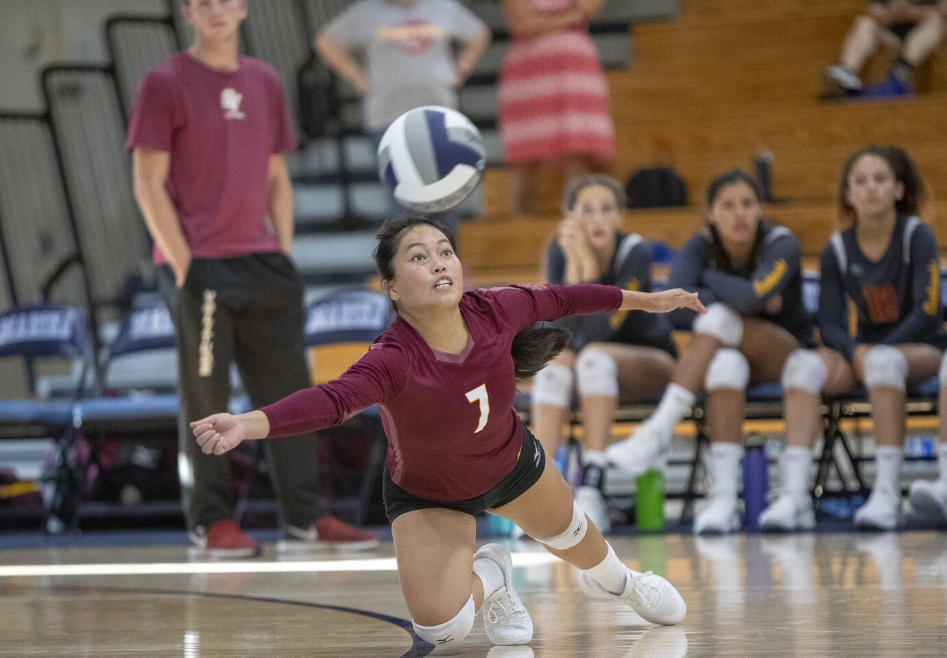 Photo Gallery: Ocean View vs. Marina in a girls' volleyball match