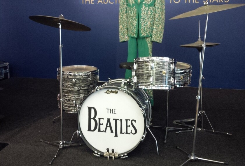 Ringo Starr's Beatles drum kit