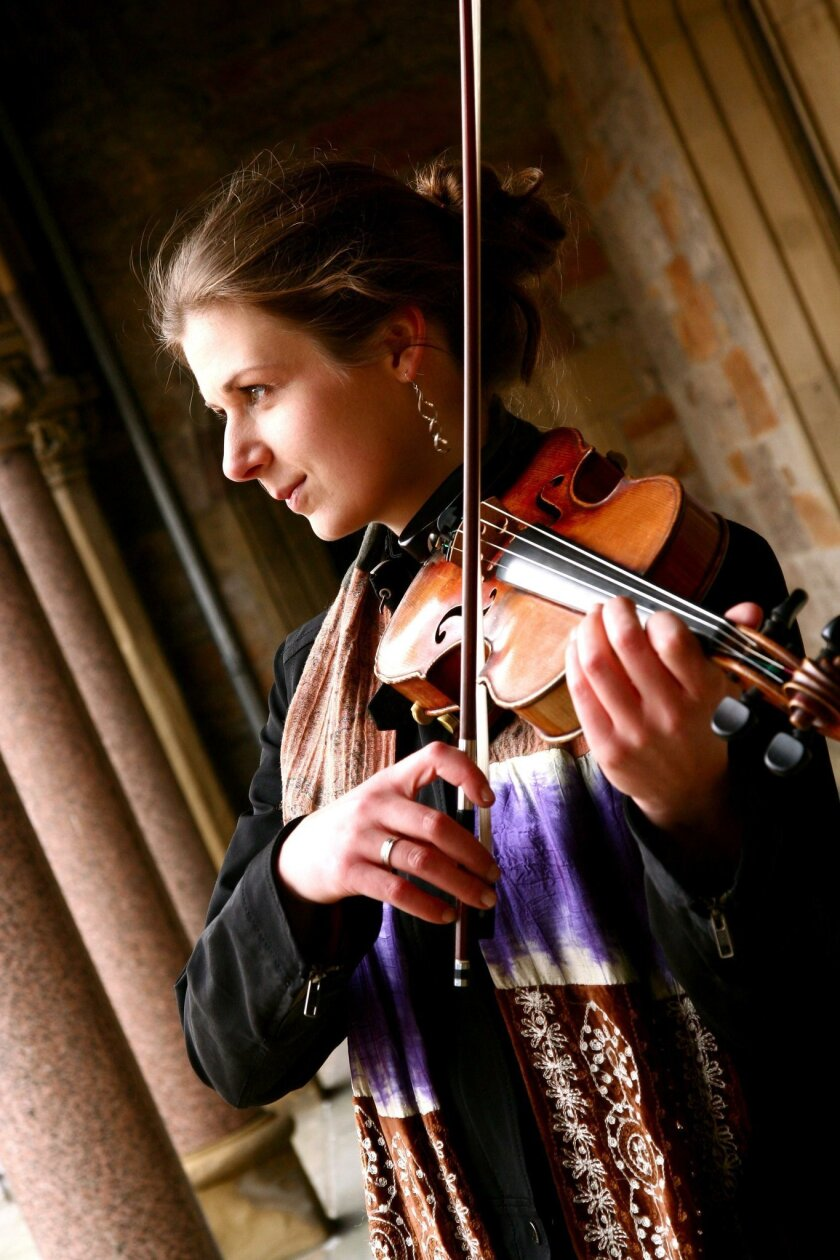 Two-time U.S. Scottish Fiddle Champion Mari Black