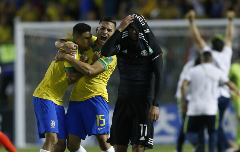 APphoto_Brazil U-17 WCUP Soccer Mexico