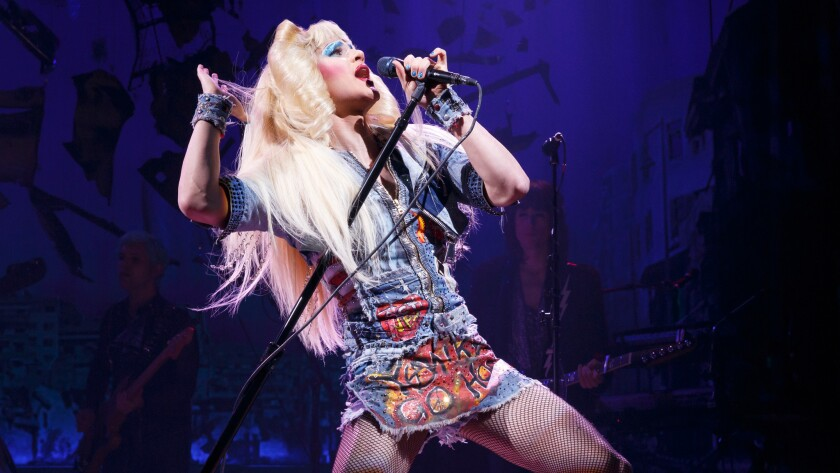 """Hedwig and the Angry Inch"" starring Darren Criss comes to the Pantages on Nov. 1."