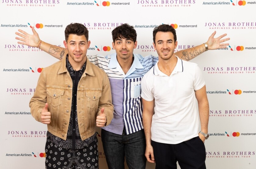 The Jonas Brothers' comeback has now extended to a North American tour that includes an October concert at Pechanga Arena San Diego.