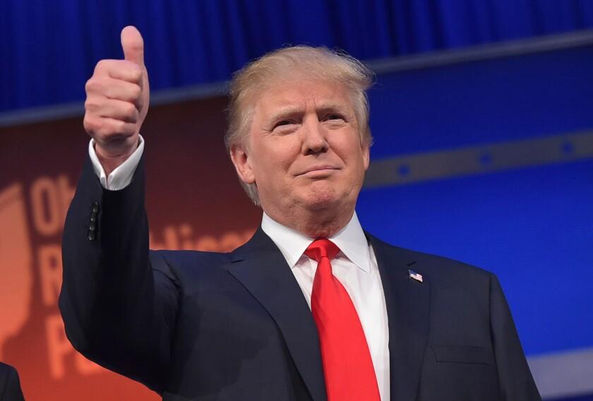 Trump alardea éxito de redadas.