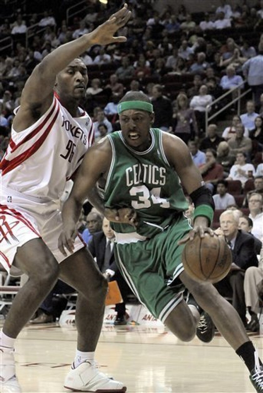 Ray Allen Scores 29 In Celtics Win Over Rockets The San