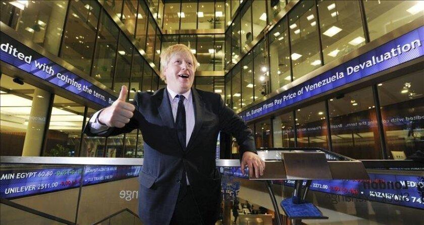 El alcalde de Londres, Boris Johnson. EFE/Archivo