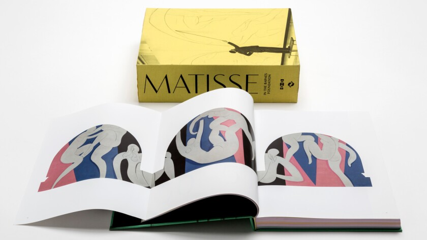 "The three-volume set of ""Matisse in the Barnes Foundation,"" published by Thames & Hudson."
