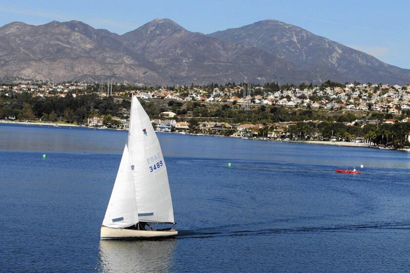Lake Mission Viejo, a manufactured lake, is not open to the public.