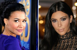 Naya Rivera slams those Kim Kardashian copycat claims