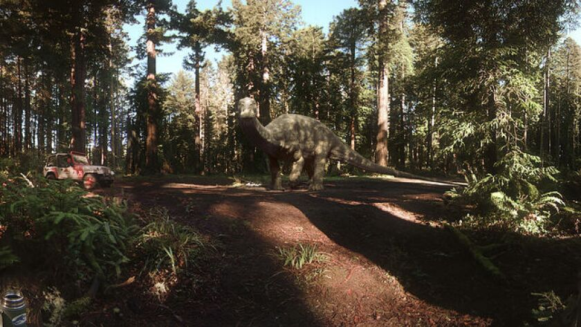 The 'Jurassic World' VR short