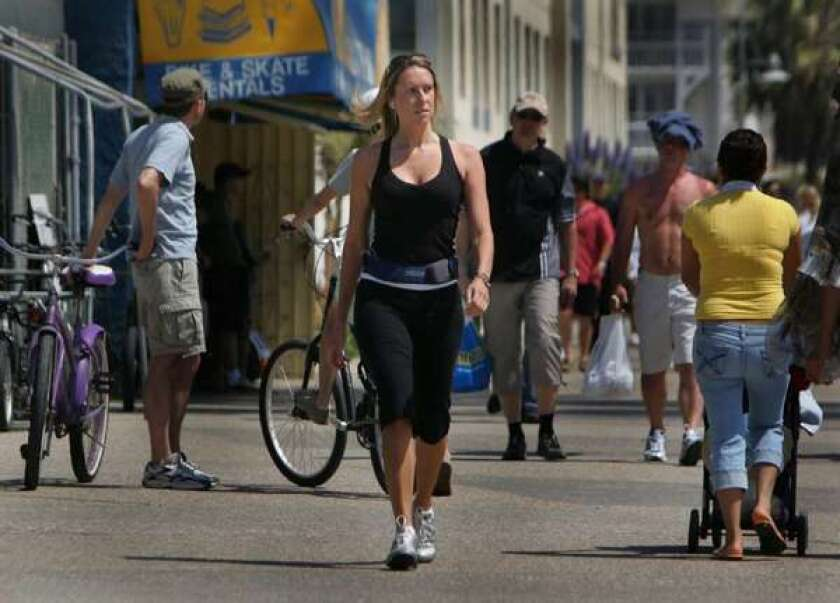 walking and bicycling for exercise
