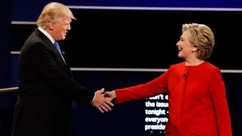 La audiencia total estimada del debate presidencial del lunes llegó a los 84 millones, según cifras de Nielsen (David Goldman / Associated Press).