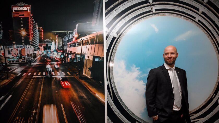 LAS VEGAS, CA - NOVEMBER 30, 2017 -- Jonas Peterson, president and CEO of Las Vegas Global Economic