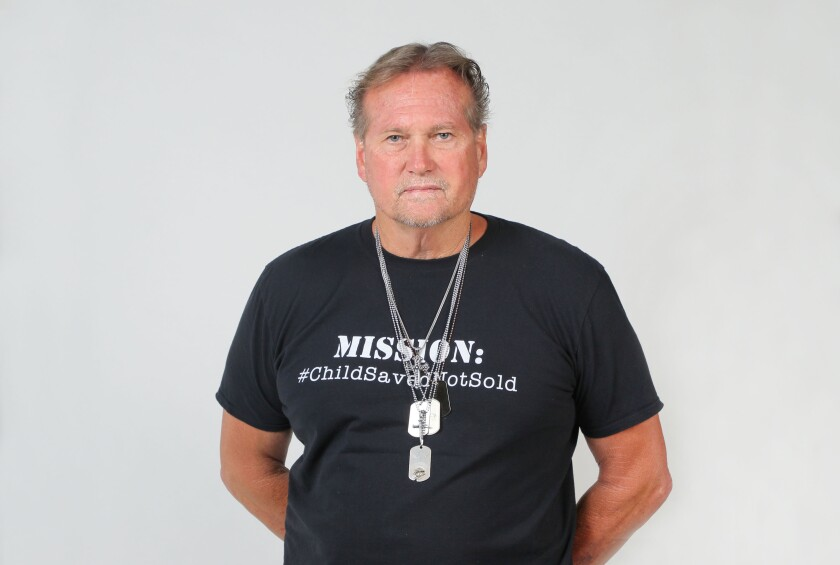 Joseph Travers, a former police detective and Navy vet, a current private investigator, and executive director of Saved in America.