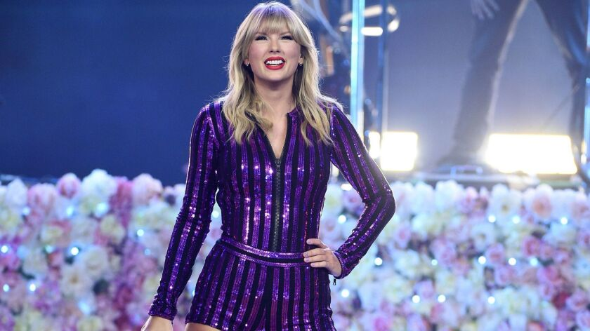 "Taylor Swift's new album is ""Lover."""