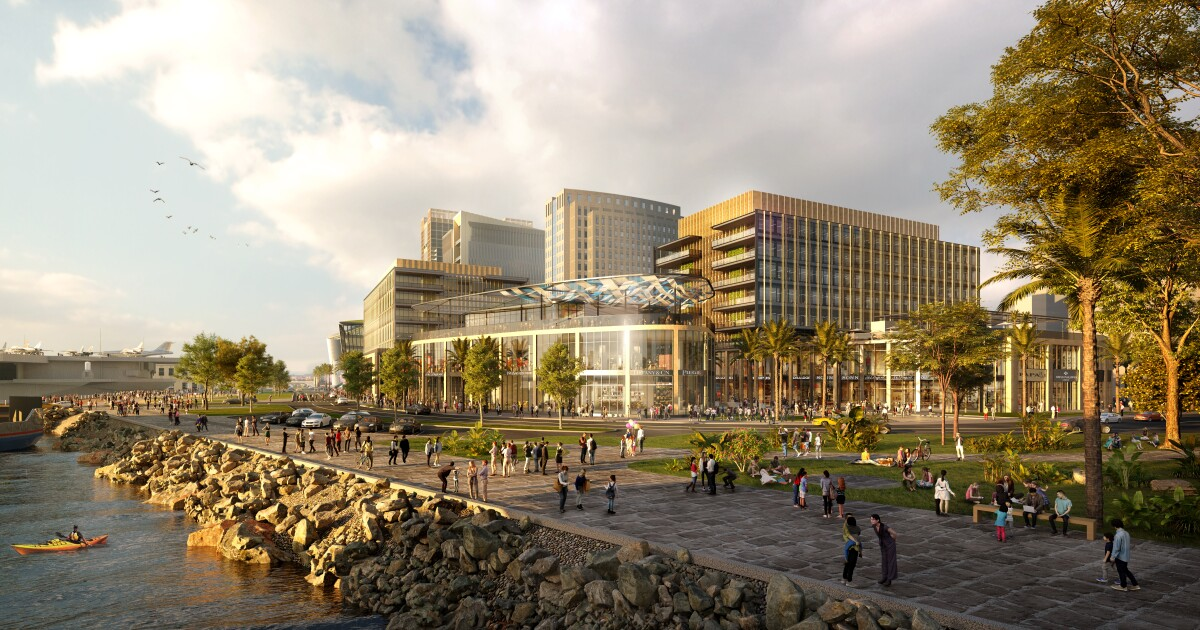 Biotech buyer acquires most of Manchester Pacific Gateway for $1.5B waterfront life science campus