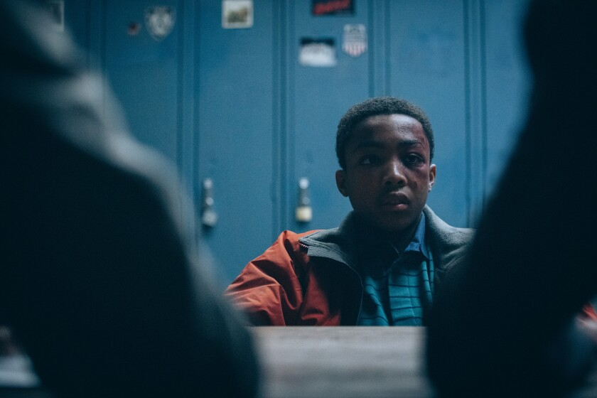 """Emmy nominee Asante Blackk in """"When They See Us."""""""