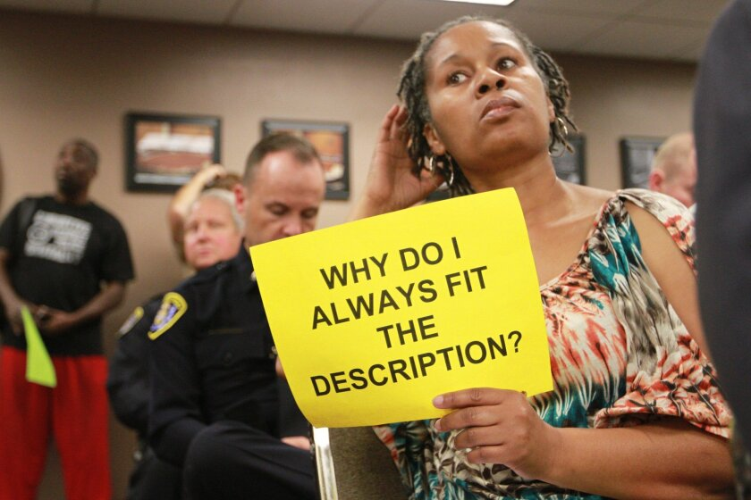 Racial profiling was the subject of this San Diego city council committee hearing in 2014.