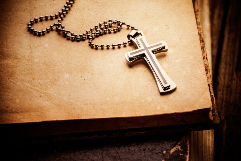 The cross is displayed in jewelry stores around the world.