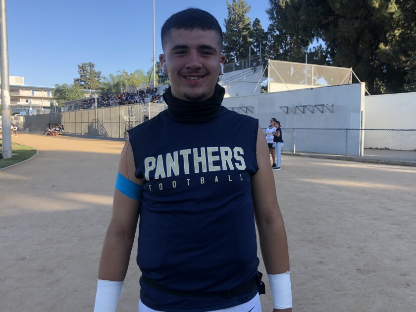 Quarterback Alfred Bobadilla of Franklin has passed for 3,763 yards and 37 touchdowns.