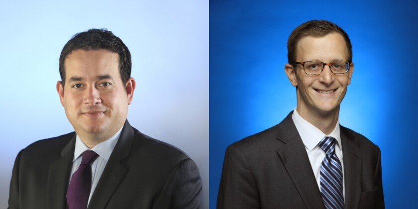 Chris Argentieri, President of California Times, and Jeff Crawford CFO