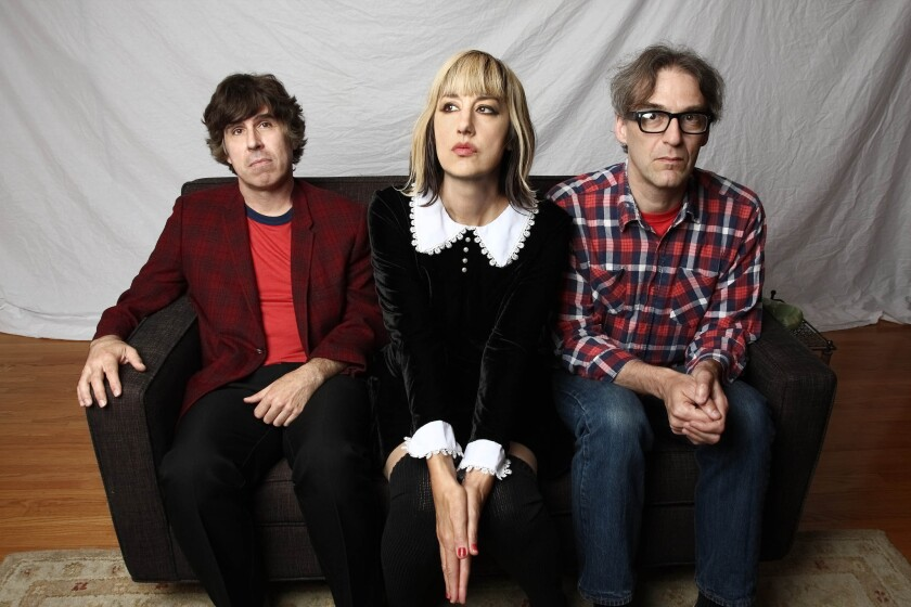 The title of the latest album by the pop/punk band the Muffs, 'Whoop Dee Doo,' pretty much says it all